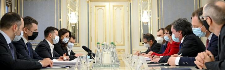 Зеленский рассказал директору ЕБРР про душу Украины и веру в деньги