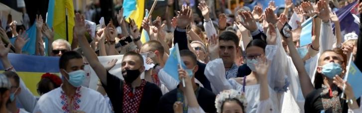 В Одесі пройшов Мегамарш у вишиванках (ФОТО, ВІДЕО)