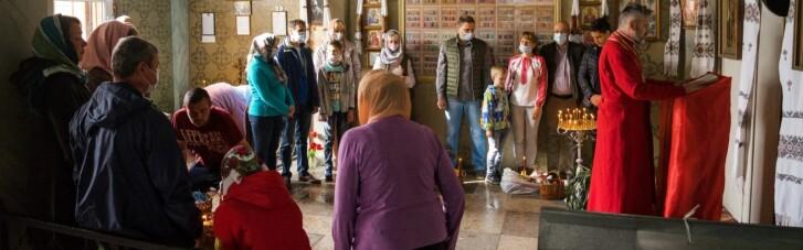 У Криму єпископ ПЦУ провів пасхальне богослужіння (ФОТО, ВІДЕО)