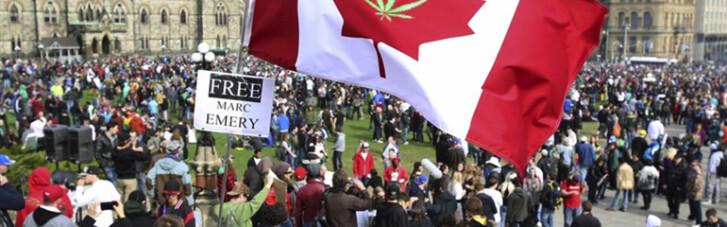 Пристрасті по марихуані. Як Канада вирішила легалізувати канабіс заради дітей (ІНФОГРАФІКА)