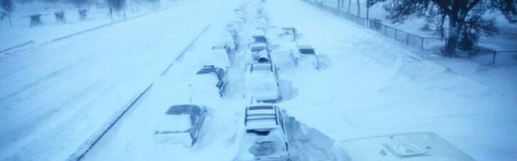 Снегопады в Украине: движение ограничено в четырех областях
