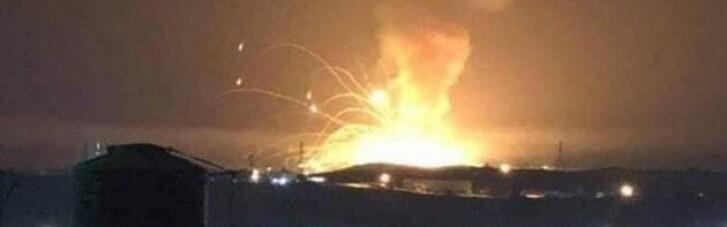 Серія потужних вибухів сталася на військовій базі в Йорданії (ФОТО, ВІДЕО)