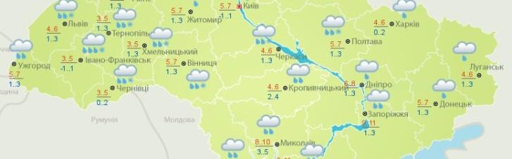 В Україні трохи потеплішає та пройдуть дощі — прогноз погоди на середу