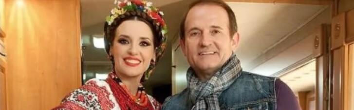 """Дружину Медведчука внесли в базу даних """"Миротворця"""""""