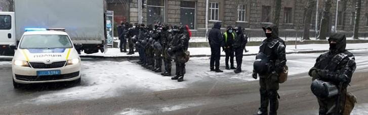 Поліцію і Національну гвардію кинули на захист влади від ФОПів