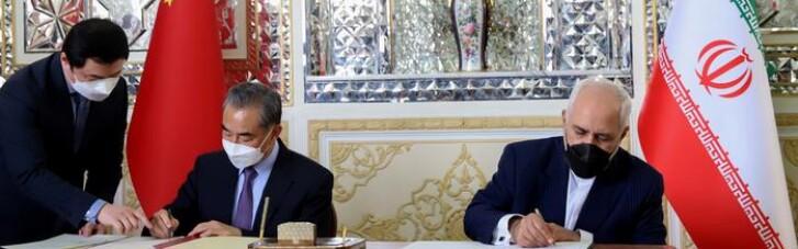 Китай подписал с Ираном соглашение о сотрудничестве на 25 лет: инвестируют $400 млрд в обмен на нефть