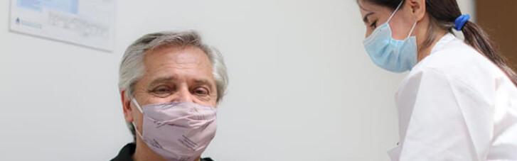 """""""Спутник"""" не поміг: президент Аргентини, щеплений російською вакциною, заразився коронавірусом"""