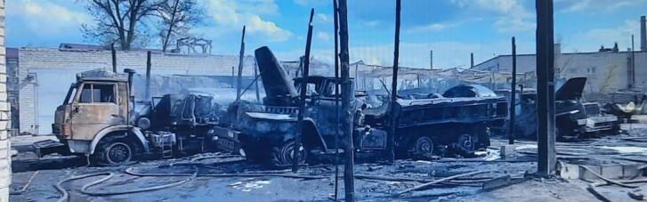 Пожар в воинской части на Луганщине: появились подробности (ФОТО)