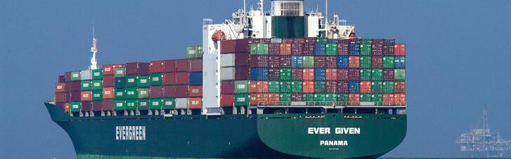 Влада Єгипту заарештувала судно Ever Given, яка блокувала Суецький канал