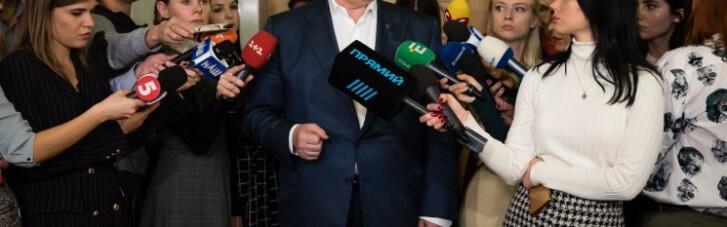 Снятие неприкосновенности с Порошенко. Как Портнов делает из Зеленского Януковича
