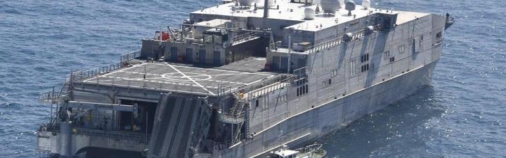 У Чорне море висунувся транспортно-десантний корабель ВМС США