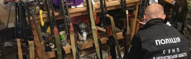 У Чернігові виявили підпільну зброярню: вилучили цілий арсенал (ФОТО)