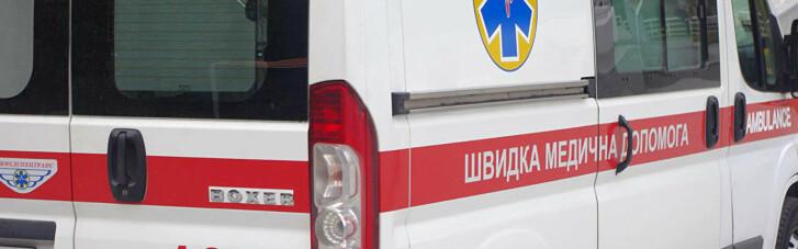 Из-за снегопада медики скорой на Львовщине везли женщину с инфарктом на санях (ФОТО)