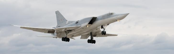 Росія відправила у п'ятигодинний політ над Чорним морем два бомбардувальники