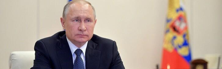 Путин, ответственный за войну на Донбассе, потребовал прекратить конфликт на Ближнем Востоке