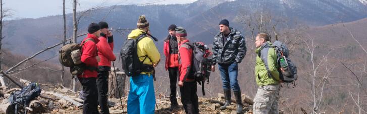 В Карпатах возобновили поиски туриста, пропавшего еще в феврале (ФОТО)