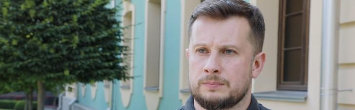 """Протасевич і """"Азов"""": Білецький підтвердив поїздку з бійцями на Донбас"""