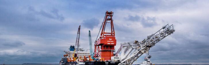 """""""Северный поток-2"""" проложат в водах Дании до конца апреля"""