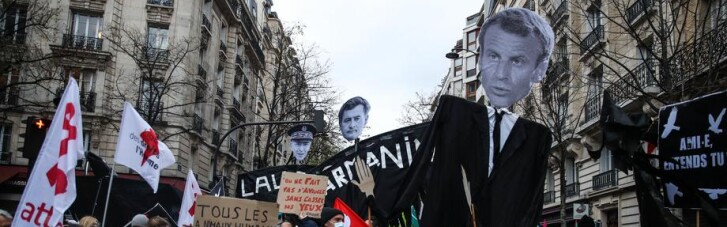 Підказка Раді. Як Макрон новим законом про поліцію розлютив французів