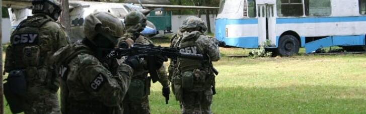 СБУ проведет антитеррористические учения на границе с Россией