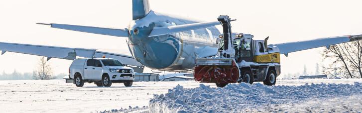 """Аэропорт """"Борисполь"""" отменил несколько рейсов из-за непогоды"""