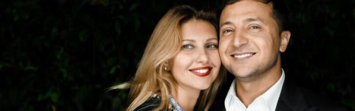 Зеленський на День закоханих повезе дружину в ОАЕ