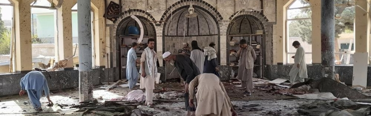 В мечеті в Афганістані новий теракт: понад 40 загиблих (ФОТО)