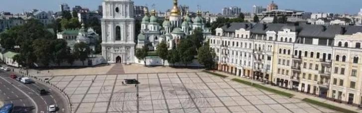 Дрифт на Софийской площади: стало известно, сколько дней уйдет на уборку (ФОТО)