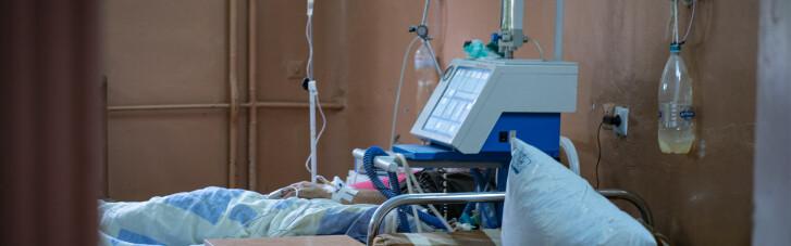На Буковине реанимации четырех больниц на 100% забиты больными COVID-19