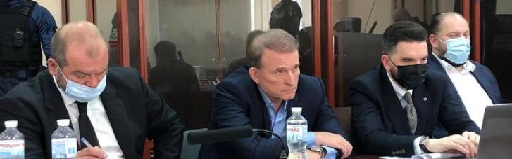 Прокурор просить заарештувати Медведчука до 10 липня з альтернативою застави у розмірі 300 млн грн
