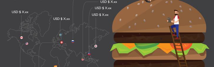 Бутерброд з доларом. Чому The Economist рахує гривню за курсом 11, а вона ніяк не зміцнюється