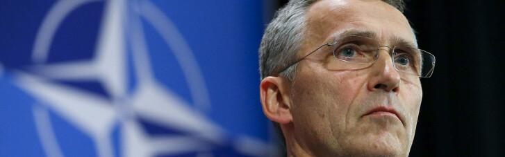 Столтенберг обещал следить за военными маневрами Кремля возле границы Украины