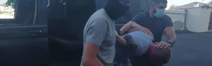 Окупанти заявили про затримання військовослужбовця ЧФ Росії, який працював на Україну (ВІДЕО)