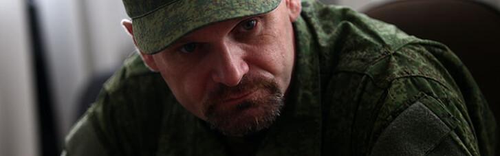 """В """"ЛНР"""" розвалюється пам'ятник вбитому ватажку бойовиків Мозговому (ФОТО)"""