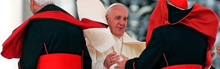 Очередь за красными шапочками. Папе надоело быть Римским