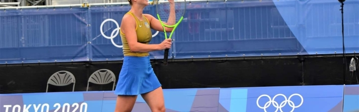 Свитолина вышла в четвертьфинал Олимпиады в Токио