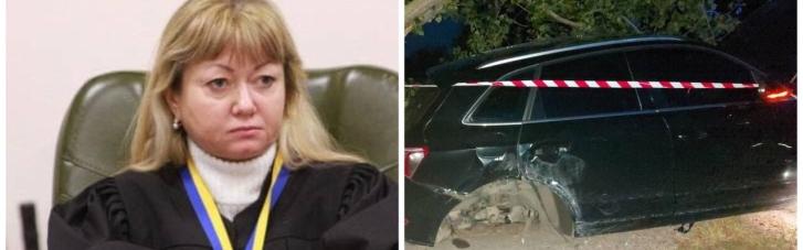 Суддя, яка здійснила п'яне ДТП в Києві, відбулася штрафом в 850 грн