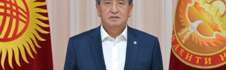 Президент Кыргызстана Жээнбеков объявил об отставке из-за акций протеста