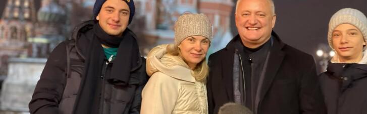 На поклін до Кремля: екс-президент Молдови відразу після відставки вирушив до Москви