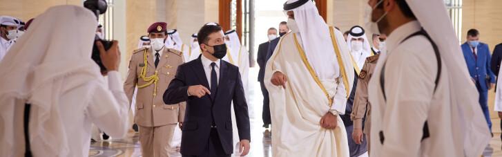Несвоевременный визит. Как связана поездка Зеленского в Катар с заговором брата короля Иордании