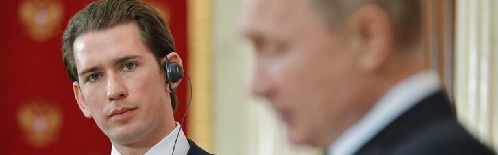 Канцлер Австрии вслед за Германией хочет защитить Кремль от новых санкций
