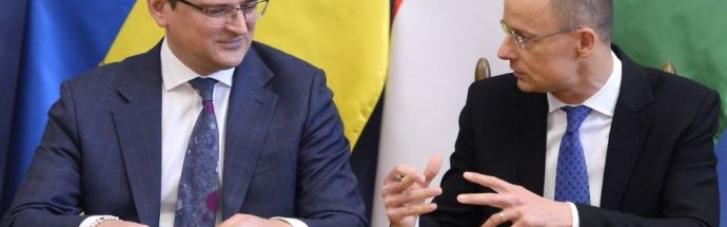 """""""Осторожный оптимизм"""": Сийярто подытожил результаты встречи с Кулебой"""