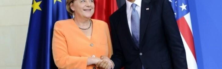 Путін змушує Порошенка обирати між Обамою і Меркель