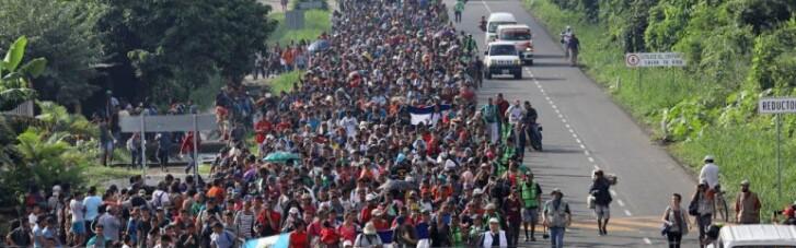 Караван из Гондураса. Сколько тысяч беженцев придет к Трампу 6 ноября
