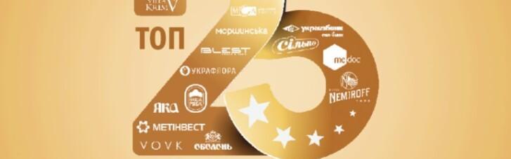 ТОП-25 украинских брендов