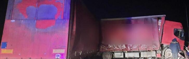 На Полтавщині зіштовхнулися вантажівки, загинули двоє людей