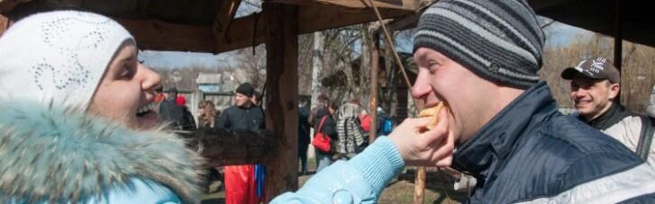 В Украине началось празднование Масленицы