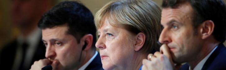 """Меркель буде """"присутньою"""" по відеозв'язку на переговорах Зеленського і Макрона в Парижі, — ЗМІ"""