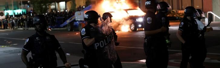 В Миннеаполисе введен режим ЧС из-за беспорядков после убийства афроамериканца