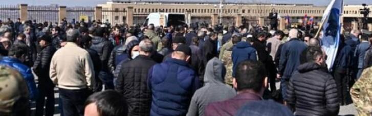 В Армении вновь прошли акции протеста против Пашиняна